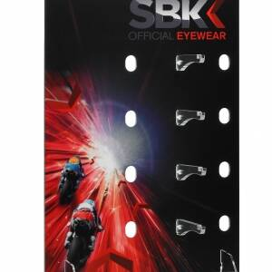 Counter display unit for SBK glasses